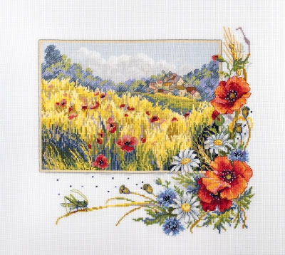 click here to view larger image of Summer Field (counted cross stitch kit)