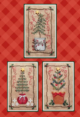 click here to view larger image of Christmas Tree Trio (chart)