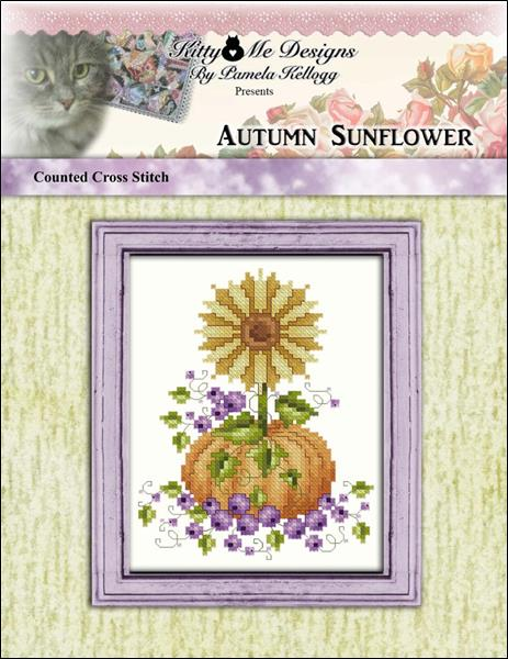 click here to view larger image of Autumn Sunflower (chart)