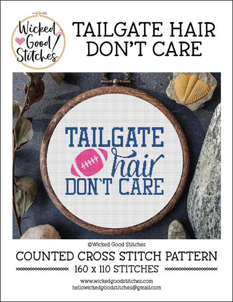 click here to view larger image of Tailgate Hair Don't Care (chart)
