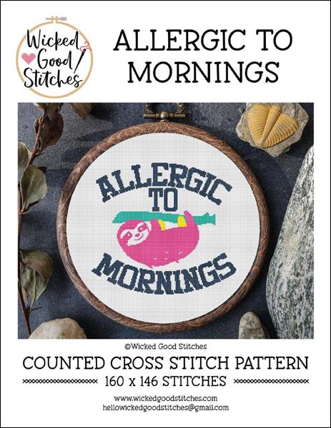 click here to view larger image of Allergic To Mornings (chart)