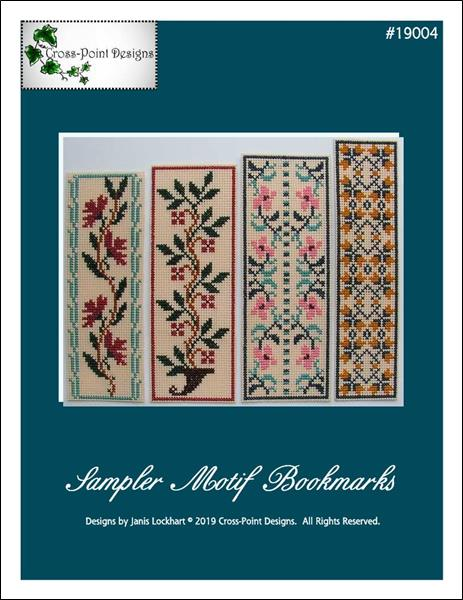 click here to view larger image of Sampler Motif Bookmarks (chart)