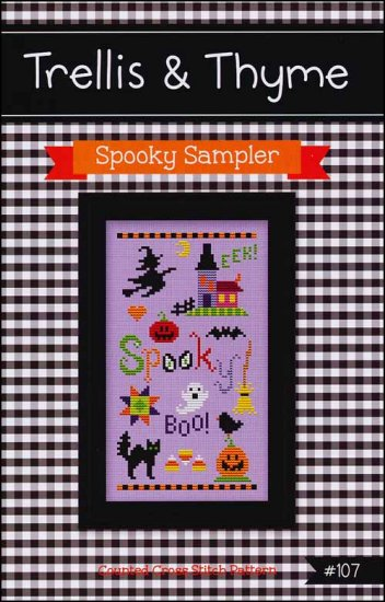 click here to view larger image of Spooky Sampler (chart)