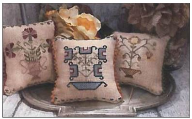 click here to view larger image of Flowers Pot Pillows (chart (special))