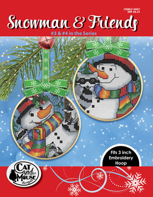 click here to view larger image of Snowman & Friends 3 & 4 (chart)