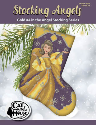 click here to view larger image of Stocking Angel 4 - Gold in the Angel (chart)