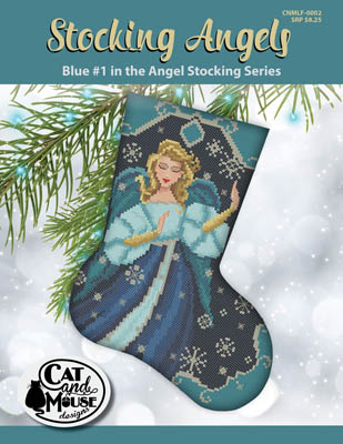 click here to view larger image of Stocking Angel 1 - Blue in the Angel (chart)