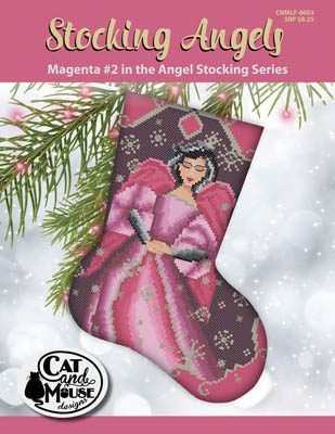 click here to view larger image of Stocking Angel 2 - Magenta in the Angel (chart)