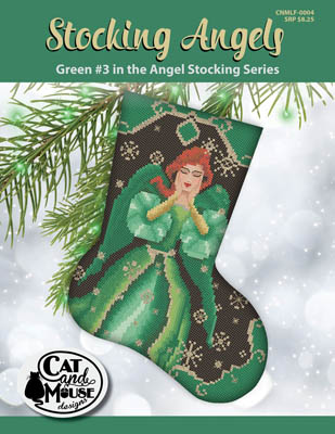 click here to view larger image of Stocking Angel 3 - Green in the Angel (chart)