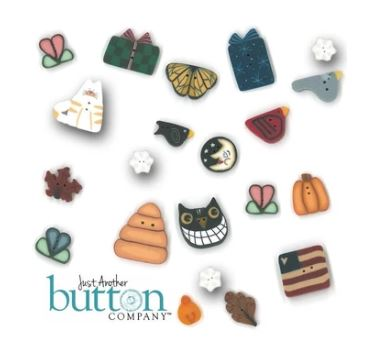 click here to view larger image of Kitty Cat Row Button Pack (buttons)