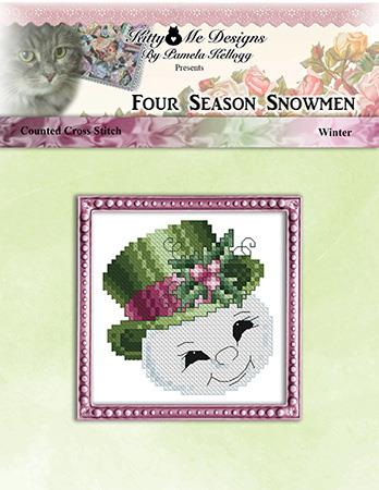 click here to view larger image of Four Season Snowmen Winter (chart (special))