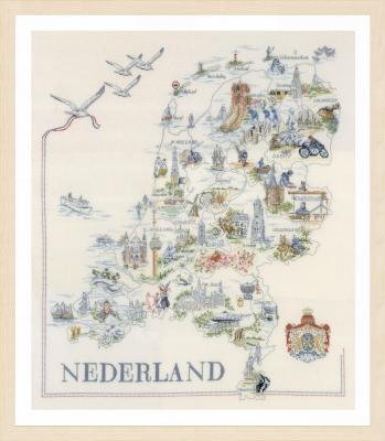 click here to view larger image of Map of Holland (None Selected)