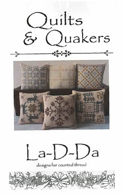 click here to view larger image of Quilts & Quakers (chart (special))