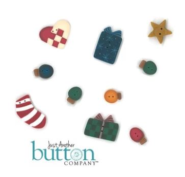 click here to view larger image of Deck The Halls Button Pack (button pack)