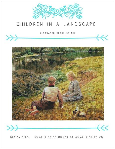 click here to view larger image of Children in a Landscape (chart)