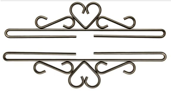 click here to view larger image of Bright Iron Heart Bellpull (accessory)
