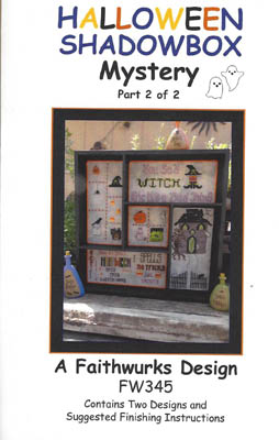 click here to view larger image of Halloween Shadowbox Mystery 2 (chart)