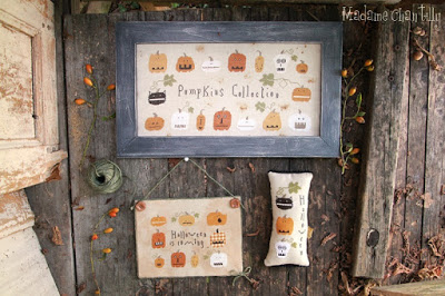 click here to view larger image of Pumpkins Collection (chart)