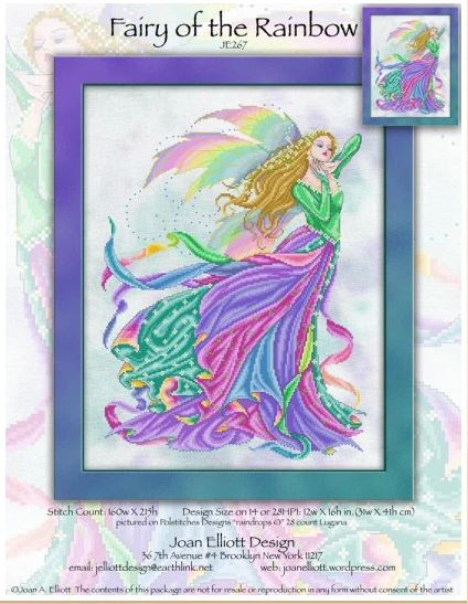 click here to view larger image of Fairy of the Rainbow (chart)