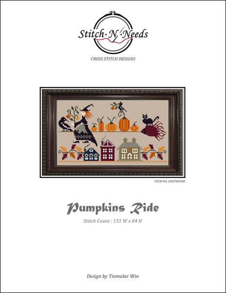 click here to view larger image of Pumpkins Ride (chart)