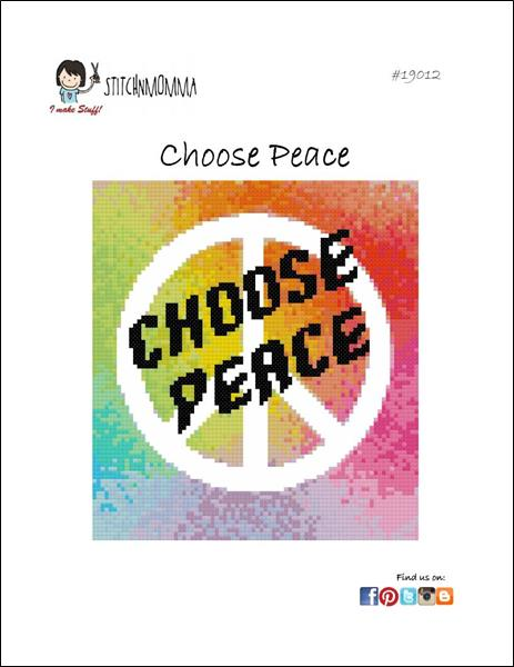 click here to view larger image of Choose Peace (chart)