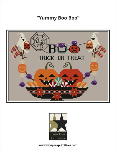 click here to view larger image of Yummy Boo Boo (chart)