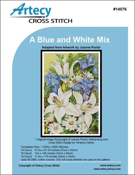 click here to view larger image of Blue and White Mix, A (chart)