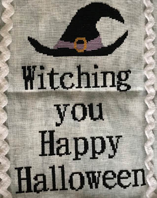 click here to view larger image of Witching Happy Halloween (chart)