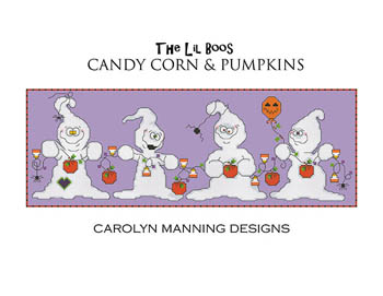 click here to view larger image of Candy Corn & Pumpkins (chart)