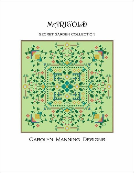 click here to view larger image of Marigold - Secret Garden Collection (chart)