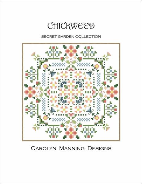 click here to view larger image of Chickweed - Secret Garden Collection (chart)