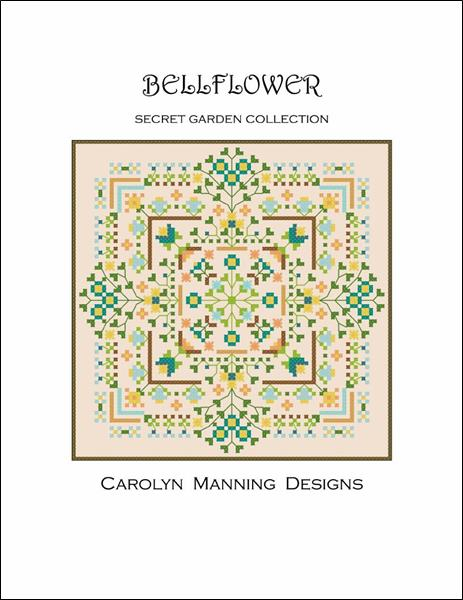 click here to view larger image of Bellflower - Secret Garden Collection (chart)