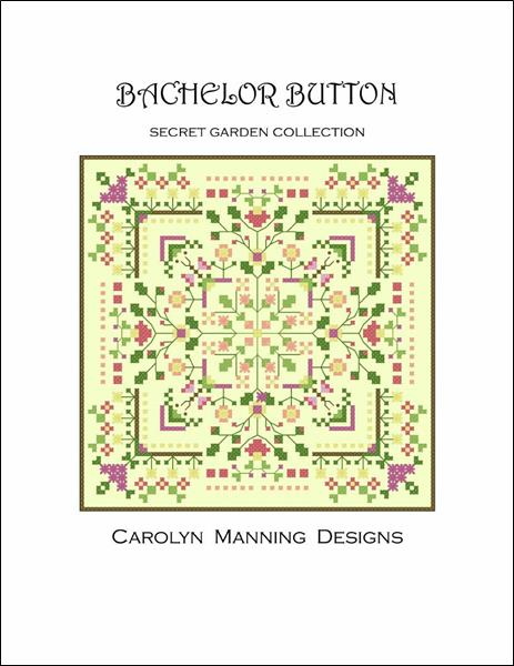 click here to view larger image of Bachelor Button - Secret Garden Collection (chart)