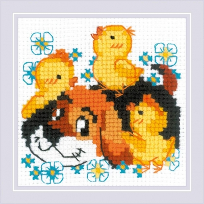 click here to view larger image of Best Friend (counted cross stitch kit)