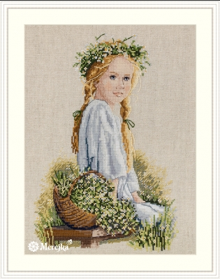 click here to view larger image of Daisies (counted cross stitch kit)