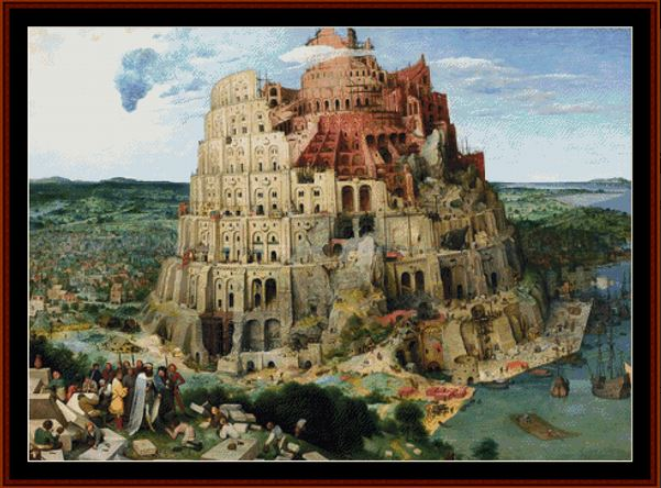 click here to view larger image of Great Tower of Babel, The (chart)
