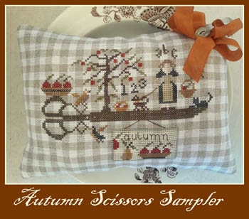 click here to view larger image of Autumn Scissors Sampler (chart)
