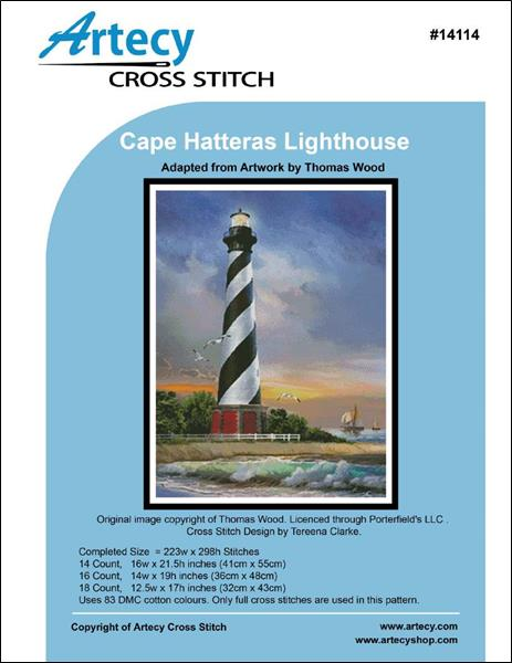 click here to view larger image of Cape Hatteras Lighthouse (chart)