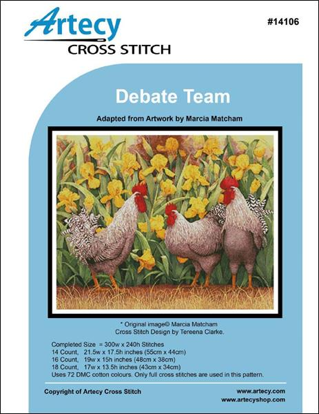 click here to view larger image of Debate Team (chart)
