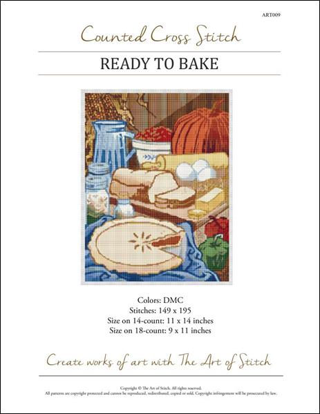 click here to view larger image of Ready to Bake (chart)