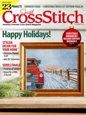 click here to view larger image of Just Cross Stitch November/December 2019 (magazines)