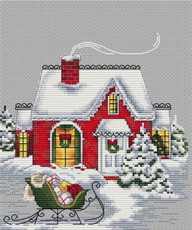 click here to view larger image of Christmas House (chart)