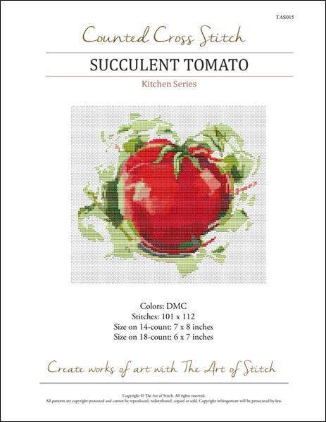 click here to view larger image of Kitchen Series - Succulent Tomato (chart)