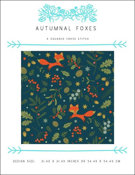 click here to view larger image of Autumnal Foxes (chart)