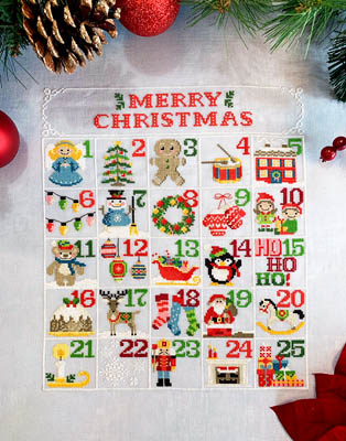 click here to view larger image of Christmas Calendar (chart)