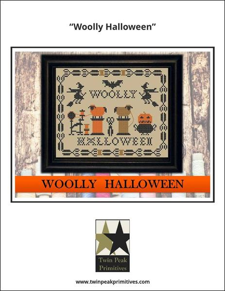 click here to view larger image of Wolly Halloween (chart)