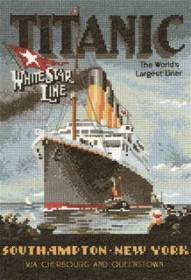click here to view larger image of Titanic (counted cross stitch kit)