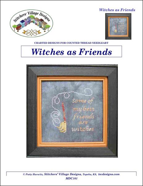 click here to view larger image of Witches as Friends (chart)
