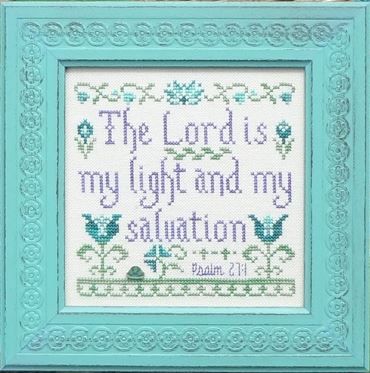 click here to view larger image of My Light and Salvation (chart)