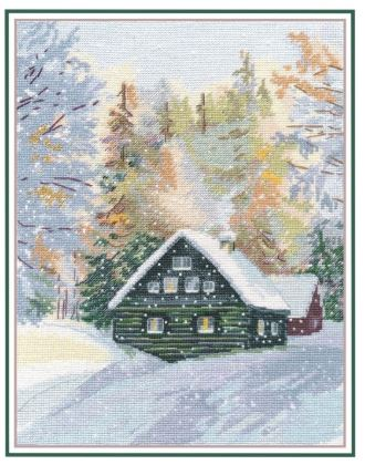 click here to view larger image of Enchanted Forest (counted cross stitch kit)